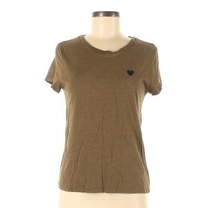 Divided by H&M Cotton Embroidered Heart tshirt